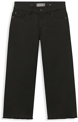 DL1961 Girl's Lily Wide Leg Jeans