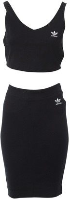 adidas Black Cotton Skirts