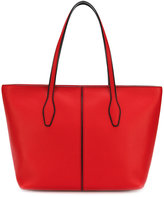Tod's zipped shopper tote bag