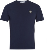 Stone Island Crew-neck cotton-jersey T-shirt