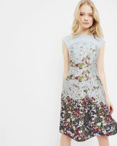 Ted Baker Entangled Enchantment jacquard dress