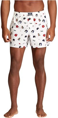 Polo Ralph Lauren Woven Boxer Printed (Stadium Conversational Print) Men's Underwear