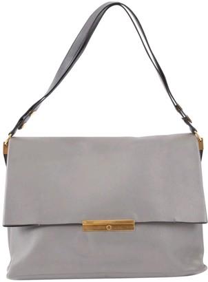 Celine Blade Grey Leather Handbags