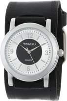 Nemesis Men's HST094K Collection Retro Dual Tone Watch