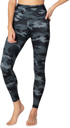 Beyond Yoga Lux Printed High-Waist Midi Leggings