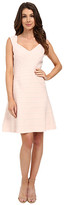 Adrianna Papell Crossover Band Fit & Flare Dress