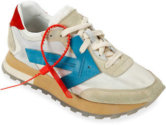 Off-White Off White HG Runner Low-Top Suede Sneakers