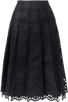 Marc Jacobs pleated skirt - women - Silk/Cotton/Nylon - 4