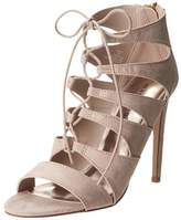 Madden-Girl Womens Raceyyy Fabric Open Toe Casual Strappy Sandals.