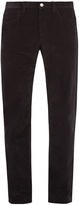 A.P.C. Mid-rise straight-leg cotton-corduroy trousers