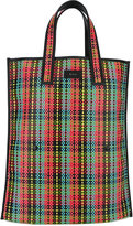 Paul Smith woven shopping bag - unisex - Leather/Polyurethane - One Size
