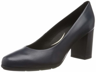 Geox Women's New Annya High-Heel Classic Leather Shoe