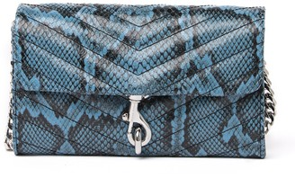 Rebecca Minkoff Edie Leather Wallet On-a-Chain