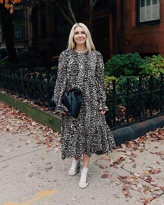 The Drop Women's Leopard Print Midi Dress by @somewherelately XS