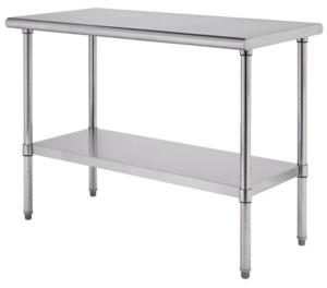 Trinity Pro Ecostorage Stainless Steel Table