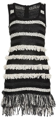 Balmain Mini Knitted Dress