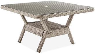 Mayfair Glass Dining Table - Gray - South Sea Rattan