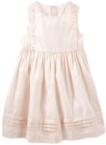 Osh Kosh Pleated Sparkle Dress