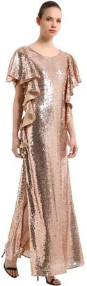 Ingie Paris Sequins Long Dress