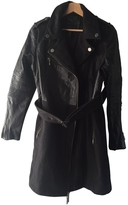 BCBGMAXAZRIA Leather coat