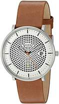 Skagen Men's SKW6277 Hald Dark Brown Leather Watch