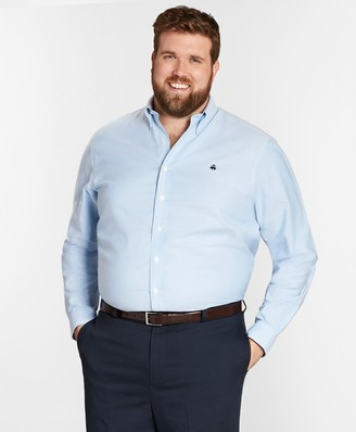 Brooks Brothers Non-Iron Big & Tall Oxford Sport Shirt