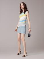 Diane von Furstenberg Suede Miniskirt