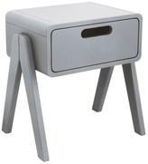 Laurette Little Robot bedside table - light grey
