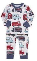 F&F Transport Print Pyjamas, Newborn Boy's