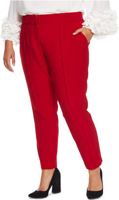 Vince Camuto Plus Size Pintuck Stretch Pants