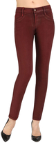 James Jeans James Twiggy Gloss Legging in Scarlet
