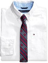 Tommy Hilfiger Kramer Shirt & Tie, Big Boys (8-20)