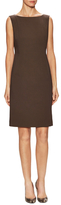 Lafayette 148 New York Faith Back Vent Sheath Dress