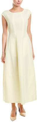 Lafayette 148 New York Jayden Linen-Blend Maxi Dress