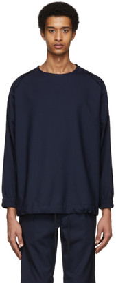 House of the Very Islands Navy Dashboard Pullover