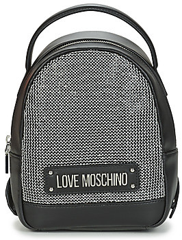 Love Moschino SPARKLING BAGS women's Backpack in Black