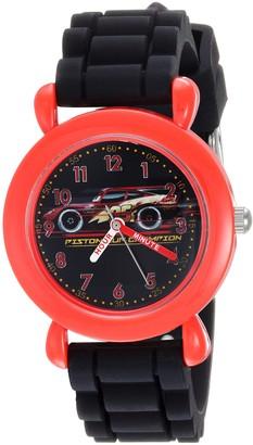 Disney Boys Cars 3 Analog-Quartz Watch with Silicone Strap