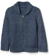 Gap Shawl zip cardigan