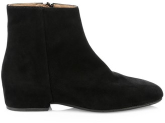 Aquatalia Ulyssaa Suede Ankle Boots