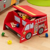 Kid Kraft Fire Truck Step 'N Store Toy Box