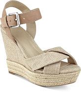 GUESS Women's Sanda Wedge Sandals