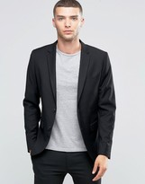 Sisley Single Breasted Suit Jacket In Slim Fit
