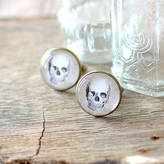JuJu Treasures Skull Cufflinks