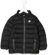 Armani Junior classic padded jacket