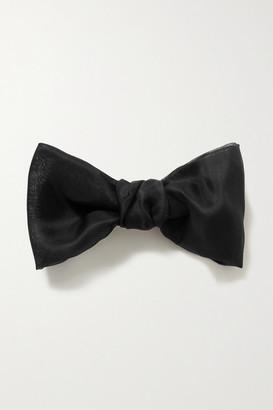 Jennifer Behr Silk-organza Hair Clip - Black