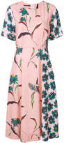 Paul Smith Pacific Floral V-neck dress