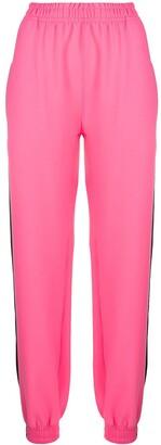 Styland Contrast Side Stripe Track Pants