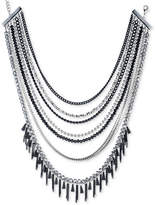 ABS by Allen Schwartz Two-Tone Multi-Bead Multi-Row Necklace