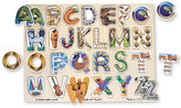 Melissa & Doug Kids Toy, Alphabet Art Puzzle