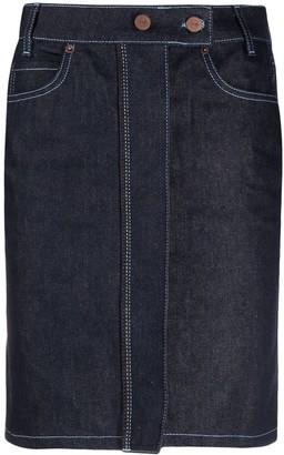 Victoria Victoria Beckham Denim Pencil Skirt